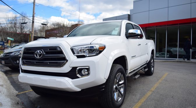 2016 Toyota Tacoma A Rugged Off Roader Gets Little Quieter